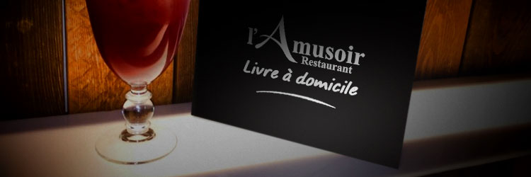 restaurant livraison domicile waterloo l 39 amusoir. Black Bedroom Furniture Sets. Home Design Ideas